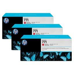 HP 771 Chromatisch Rood 775ml 3x