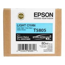 Epson T5805 Licht Cyaan 80ml
