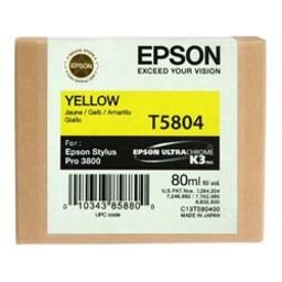 Epson T5804 Geel 80ml