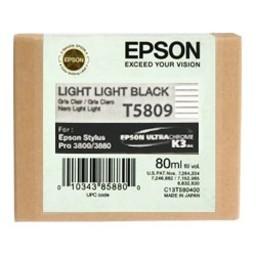Epson T5809 Licht Licht Zwart 80ml