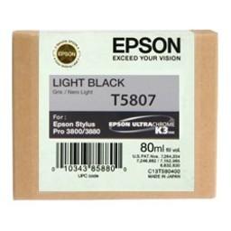Epson T5807 Licht Zwart 80ml