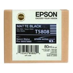 Epson T5808 Mat Zwart 80ml