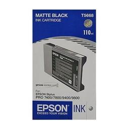 Epson T5668 Mat Zwart 110ml