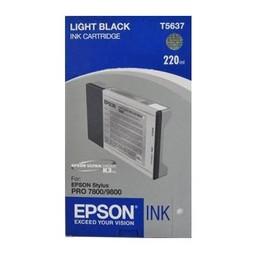 Epson T5637 Licht Zwart 220ml