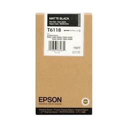 Epson T6118 Mat Zwart 110ml