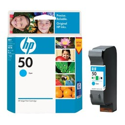 HP 50 Cyaan 42ml