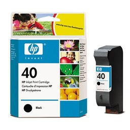 HP 40 Zwart 42ml
