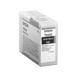 Epson C13T850800 Mat Zwart 80ml
