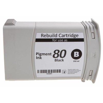 PSI HP 80 Zwart 350ml - 105001