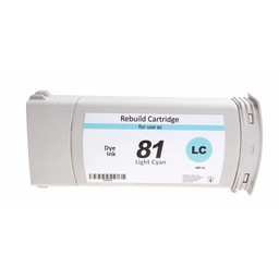 PSI HP 81 Licht Cyaan 680ml - 500005