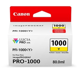 Canon PFI-1000Y Geel 80ml - 0549C001