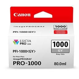 Canon PFI-1000GY Grijs 80ml - 0552C001