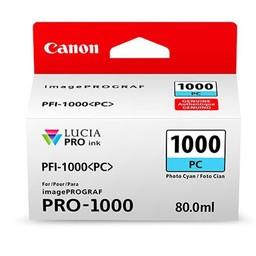 Canon PFI-1000PC Foto cyaan 80ml - 0550C001