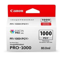 Canon PFI-1000PGY Foto grijs 80ml - 0553C001