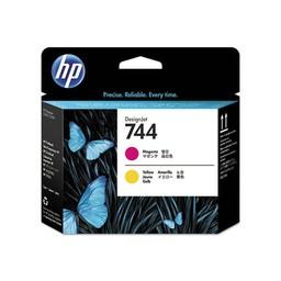 HP 744 magenta/gele DesignJet printkop - F9J87A