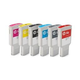HP 745 chromatisch rode ink 300ml - F9K06A