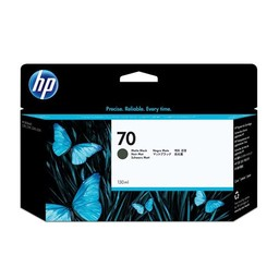 HP 70 - Mat Zwart 130ml - C9448A