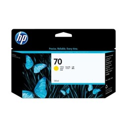 HP 70 - Geel 130ml - C9454A