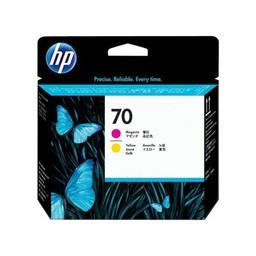 HP 70 - Magenta en geel printkop - C9406A