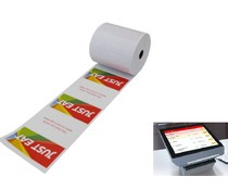 Order Pad Printer Rolls - 50 Pack