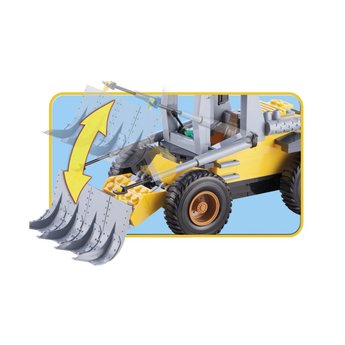 Cobi - Action Town - Bulldozer (1664)