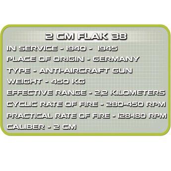 Cobi - Small Army - WW2 Flak 38 (2181)