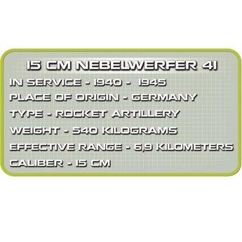 Cobi Cobi - Small Army - WW2 Nebelwerfer (2182)