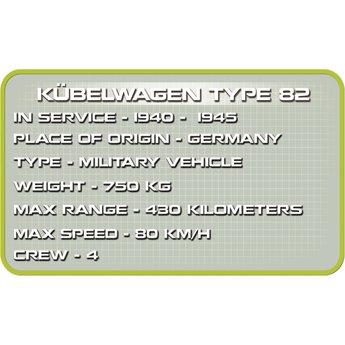 Cobi - Small Army - WW2 Kubelwagen Type 82 (2339)