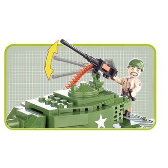 Cobi Cobi - Small Army - WW2 M-24 Chaffee (2457)