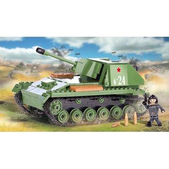 Cobi Cobi - Small Army - WW2 SU-76M Tank (2458)