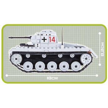 Cobi Cobi - Small Army - WW2 Panzer II Ausf. C (2459)