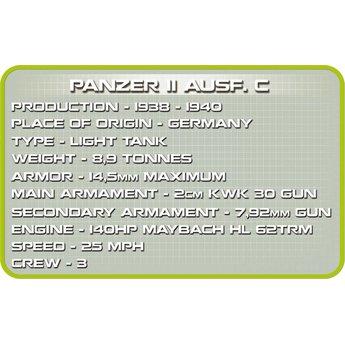 Cobi - Small Army - WW2 Panzer II Ausf. C (2459)