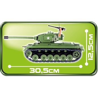 Cobi Cobi - Small Army - WW2 M-26 Pershing Tank (2471)