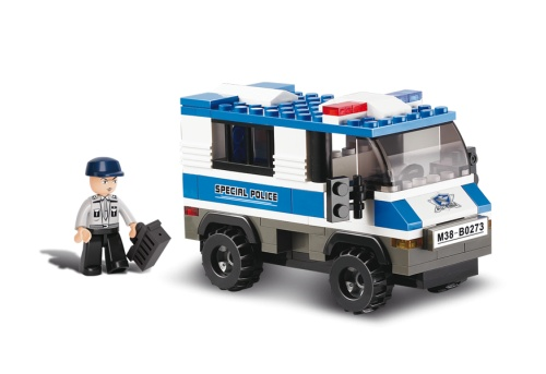 Police - Gevangenen transport politiebus M38-B0273 Sluban