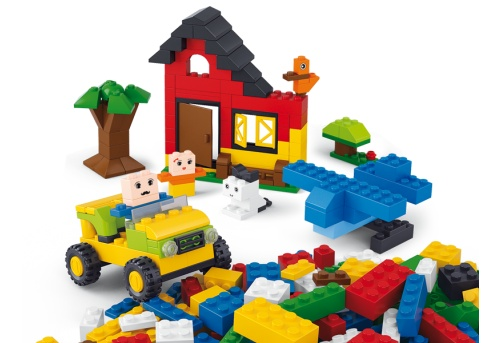 Kiddy Bricks - Basis Bouwstenen 415 stuks M38-B0502 Sluban