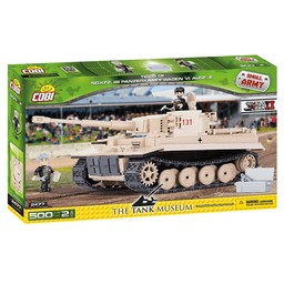 Cobi Small Army - WW2 Tiger 131 / The Tank Museum (2477)