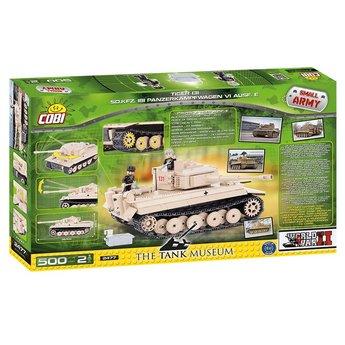 Cobi Cobi - Small Army - WW2 Tiger 131 Sd.kfz 181 Panzerkampfwagen VI Ausf. E (2477)
