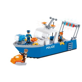 Cobi - Action Town - Police Patrol Boat (1577)