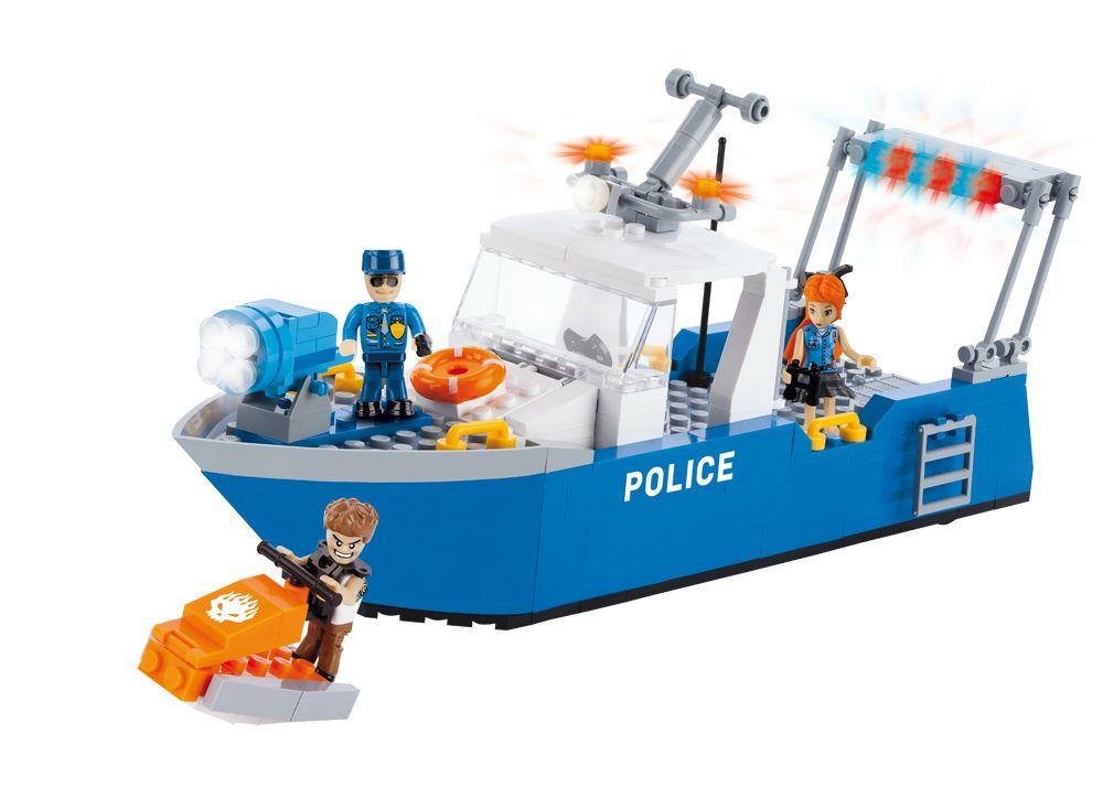 Cobi Action Town - Police Patrol Boat (1577)