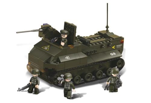 Sluban Army - Pantservoertuig M38-B6300 Sluban