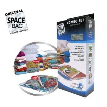 Space Bag Bekend van TV: Combo vacuümzakken (6-delig)
