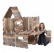 Fantasy Forts Hutten bouwpakket (33-delig)