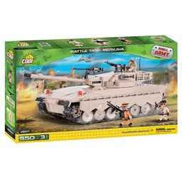 Cobi Cobi - Small Army - Battle Tank Merkava (2607)