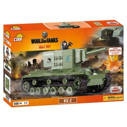 Cobi - Small Army World of Tanks - KV-2 (3004)
