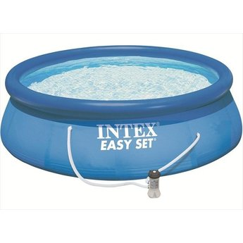 Intex Zwembad Easy set incl. filterpomp Ø396cm x 84cm hoog
