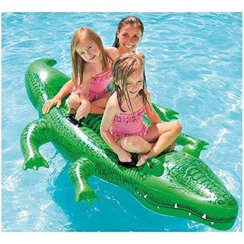 Intex Grote Opblaasbare Krokodil (203x114cm)