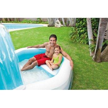 Intex Opblaasbaar Familie Zwembad 'Cabana' met Bank (310x188x130cm)
