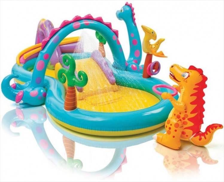 Dinoland speelzwembad Intex