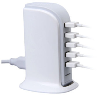 Soundlogic 5 Poort USB Oplaadtoren Soundlogic