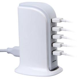 5 Poorts USB Oplaadtoren Soundlogic